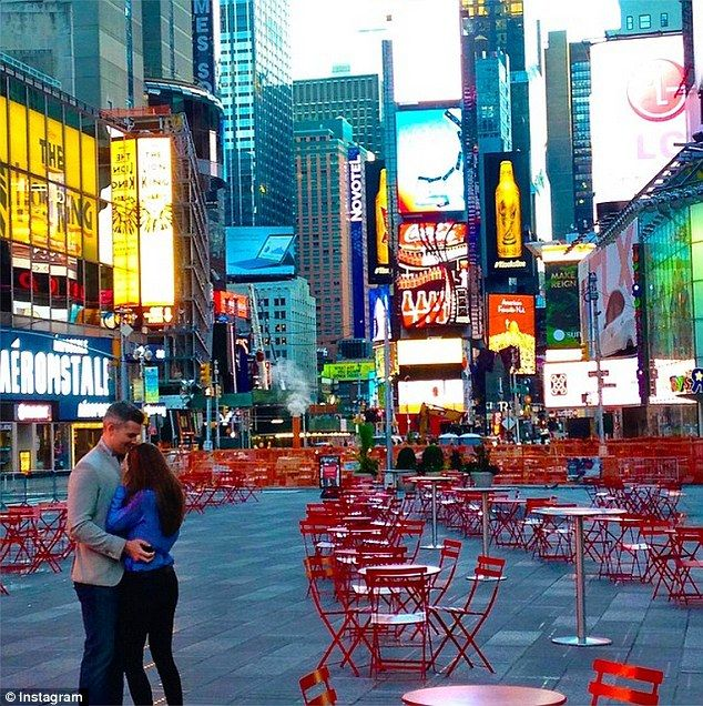 Grand gesture: Million Dollar Listing New York star Ryan Serhant shut down Times Square fo...