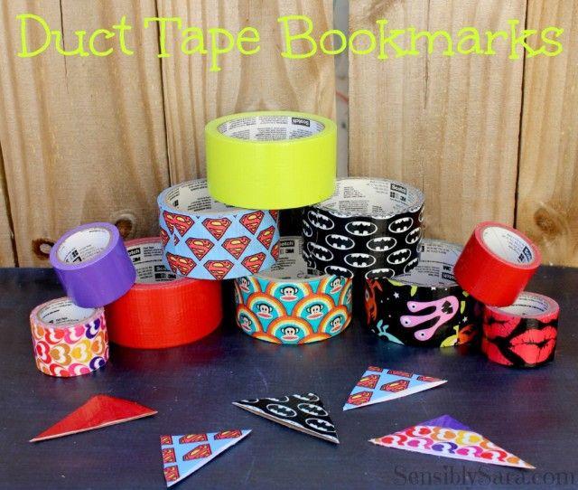40 Easy DIY Duct Tape Crafts Instructions - Big DIY Ideas