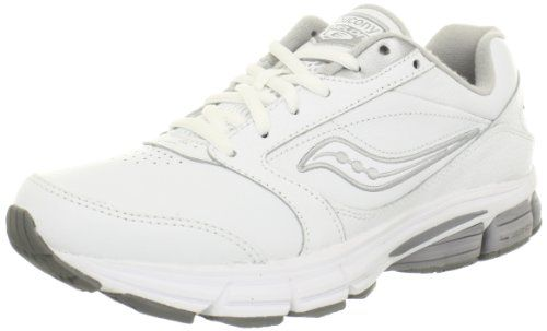 Saucony Ladies Leather Walking Shoes