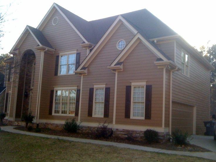 Painting Brick Home S Exterior Designs on stucco exterior home, painting brick fireplace, painting brick driveways,