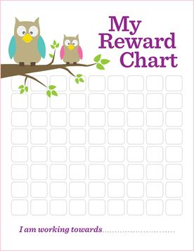 Downloadable reward charts. Useful for parents over the summer.