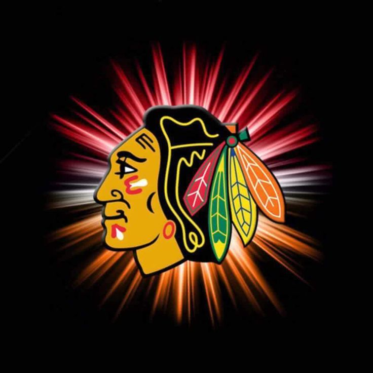 Chicago Blackhawks. Got new schedule today and it's Sept. YAY!!!