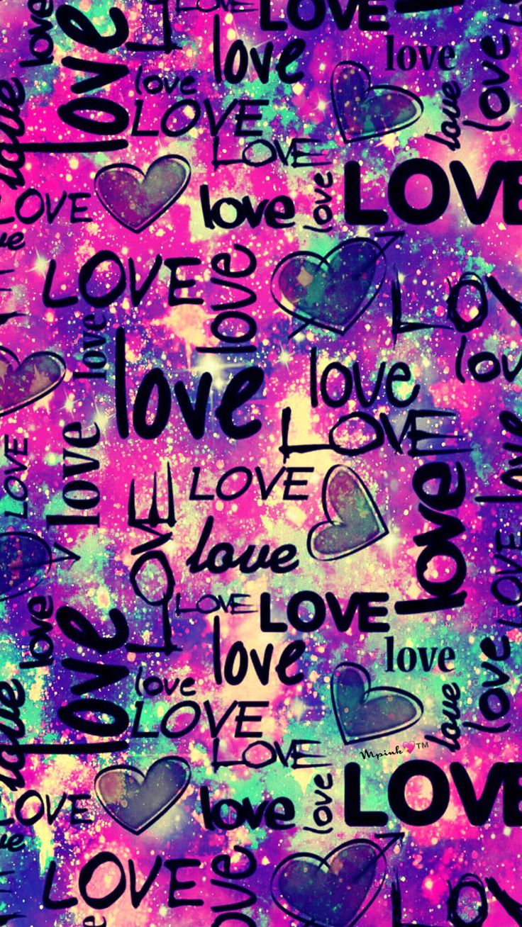 Love Galaxy Wallpaper #androidwallpaper #iphonewallpaper #wallpaper #galaxy #sparkle #glitter #lockscreen #pretty #pink #cute #girly #love #words #purple #pattern #art #colorful