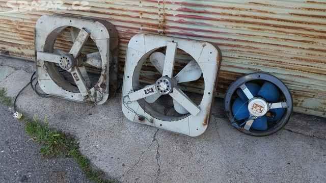Staré industriální ventilátory strojsmalt - obrázek číslo 5
