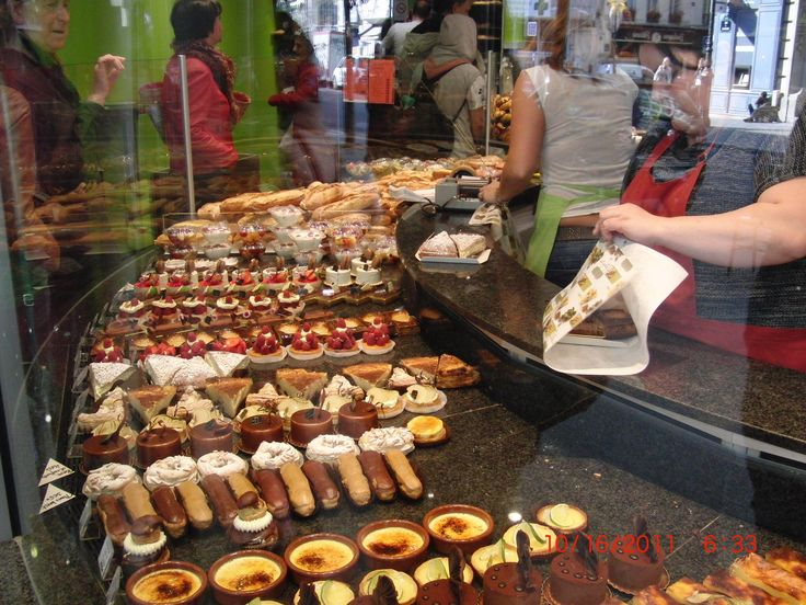 French sweets galore.