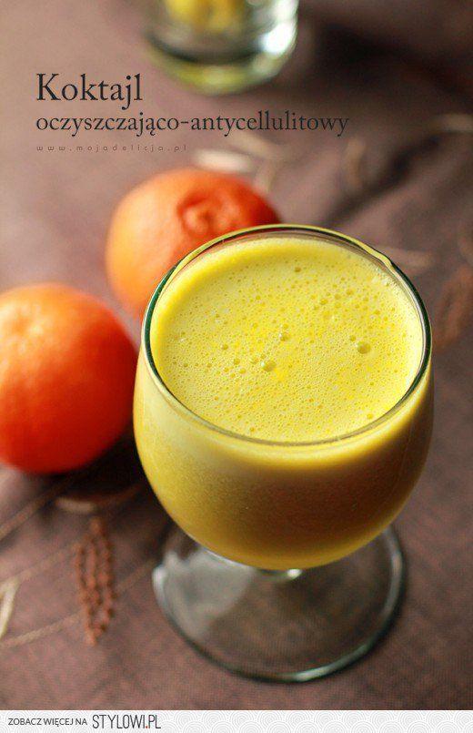 Koktajl z jabłka, selera naciowego, ogórka i pomarańczy…