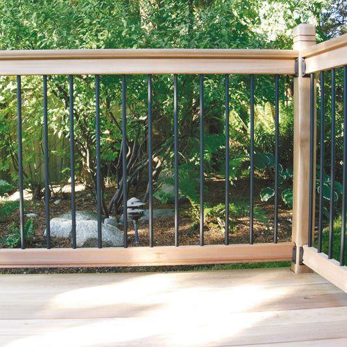 rona wood railing