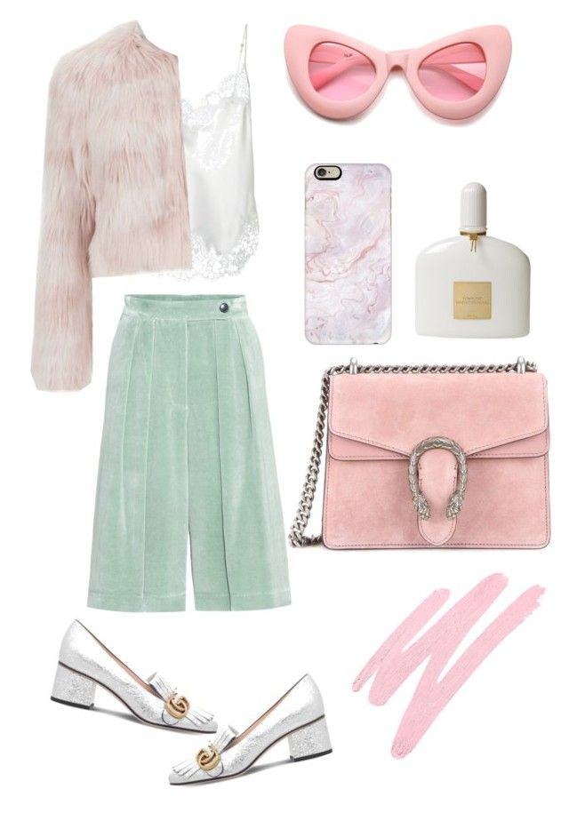 """""""Pink"""" by flashpoool on Polyvore featuring мода, Dries Van Noten, ZeroUV, Casetify, Givenchy, RED Valentino, Gucci, Tom Ford и NARS Cosmetics"""