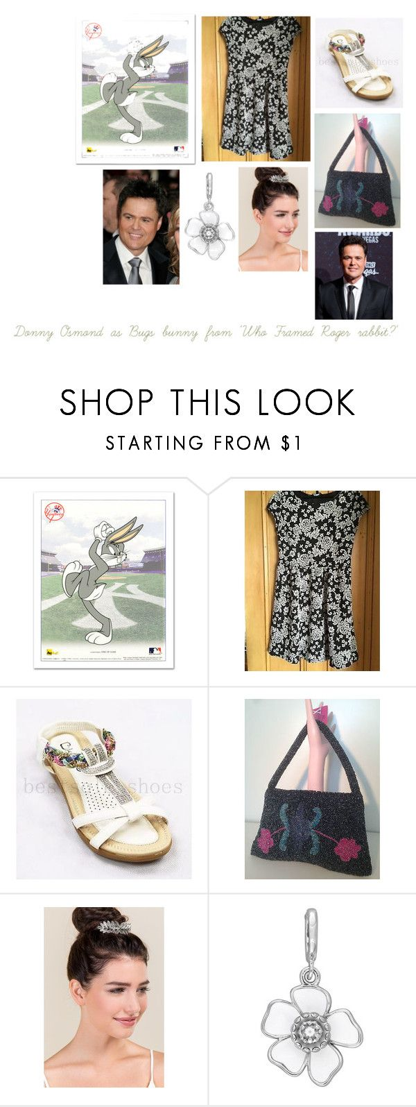 """Disney dream cast: Donny Osmond as Bugs bunny from 'Who framed roger rabbit?'"" by sarah-m-smith ❤ liked on Polyvore featuring Francesca's and Laura Ashley"