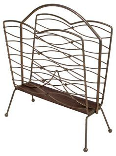 Midcentury Magazine Rack | Vintage Style | One Kings Lane