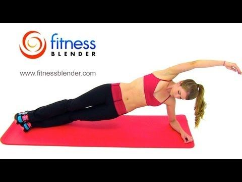 Pilates and Cardio Workout: Sweat-a-Loties! 28 Minute Fitness Blender Cardio Pilates Blend