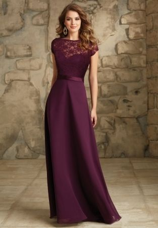 Amazing Plum Dresses For Weddings
