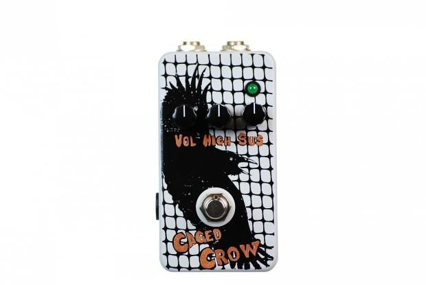 Flickinger Caged Crow Vintage Distortion Hand Painted | Reverb