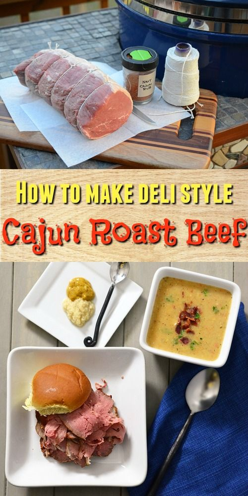How to make your own deli style Cajun Roast Beef at home.