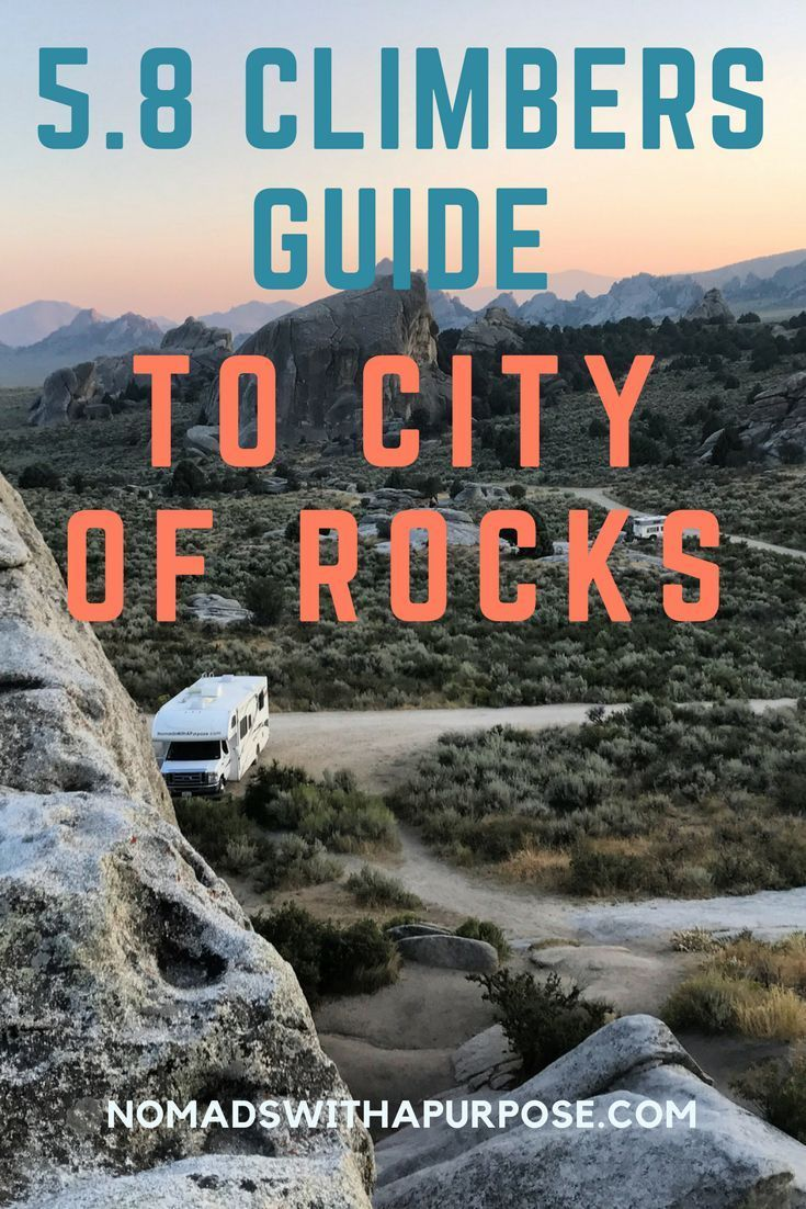 Climbing City of Rocks: Climbers Guide to 5.8 Routes | Pinterest | Sport  climbing, Idaho and Rock