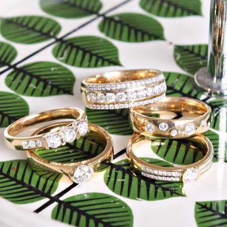 Diamantringar från Princess hos Guldfynd
