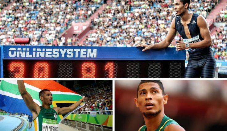Wayde van Niekerk makes South Africa proud with a new world record