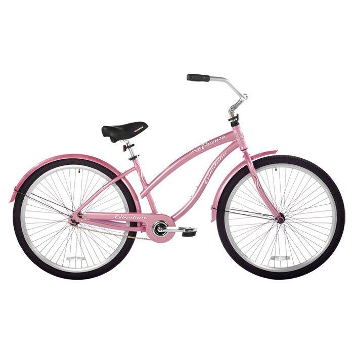 Sweet pink bicycle