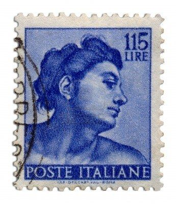 Italian postage stamps