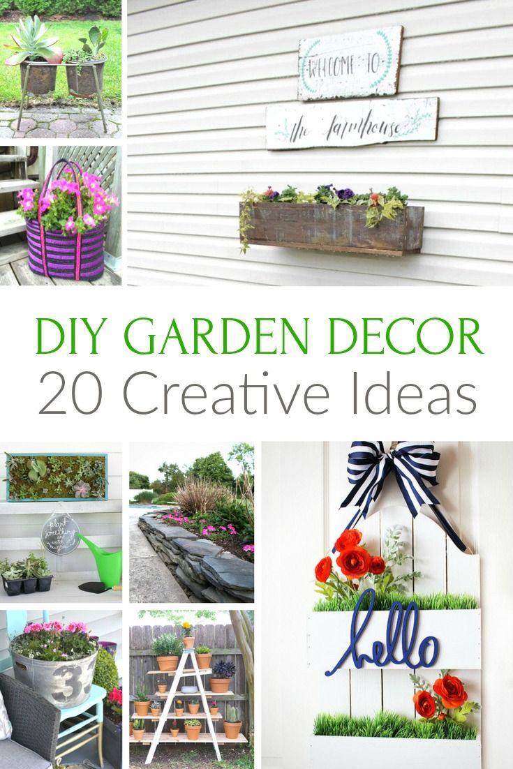 20 Creative Diy Garden Decor Ideas