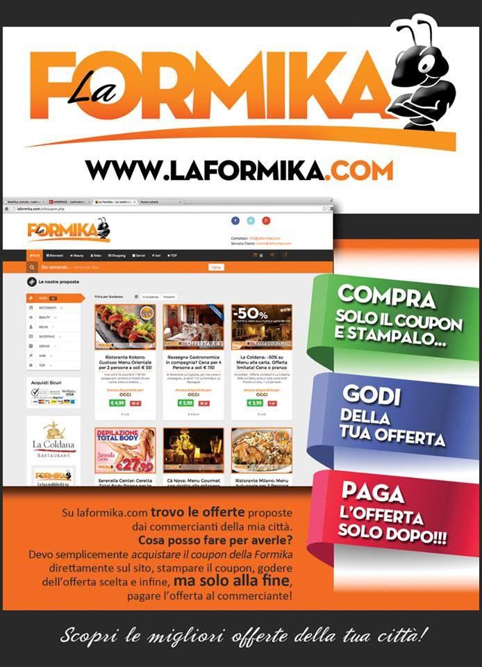 La Formika - Sconti - Lodi - Crema - Pavia - Piacenza - Coupon