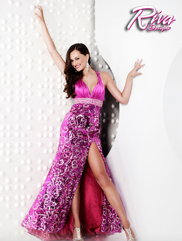 Fuschia And Silver Bridesmaid Dresses Colors: Gold; Hot Pink...
