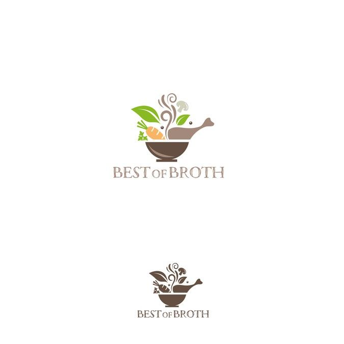 Logo for Bone and other sipping Broth needed asap for Food Truck by mibg