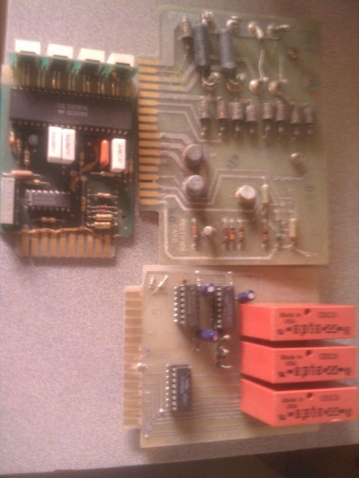 Electronic Circuit Board Transistors Capacitors Resistors