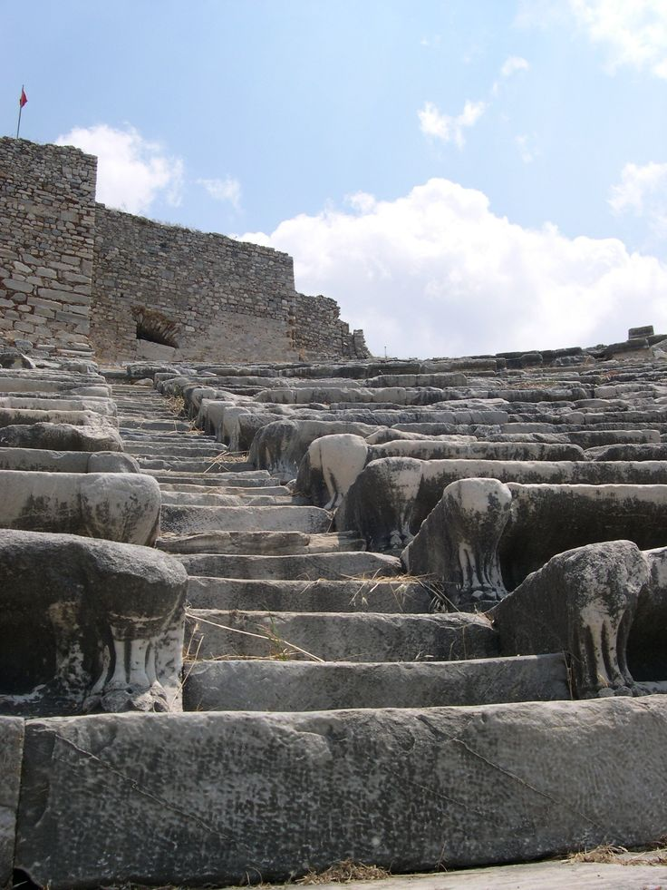 Miletus (Miletos)  Aydın Türkiye   -Ancient Theatre