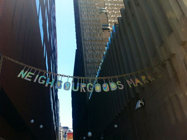 At Neighbour Goods Market in #Joburg. V east end of Londonish. #SouthAfrica