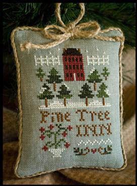 2011 Ornament 6 - Pine Tree Inn - Cross Stitch Pattern