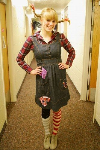 Pippi Longstocking | Community Post: 24 Awesome Kids' Book-Inspired Halloween Costumes For Grownups