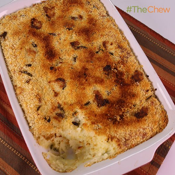 Creamy Make-Ahead Mashed Potatoes by Daphne Oz! #TheChew