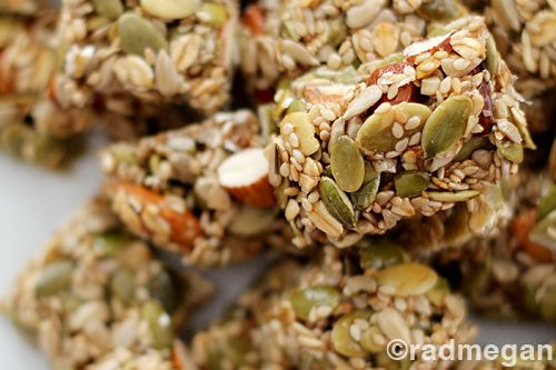 Heart-Healthy Treats: Seed & Nut Energy Bars - Radmegan