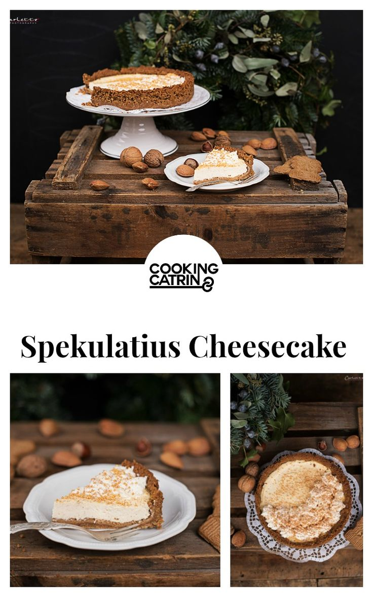 Cheesecake, Spekulatiuskuchen, Spekulatius Cheesecake, Winter Kuchen, Winter Torte, Weihnachts Kuchen, Weihnachts Torte, almond biscuit cake, christmas cake, winter cake, christmas baking, winter recipe, christmas recipe...http://www.cookingcatrin.at/spekulatius-cheesecake/
