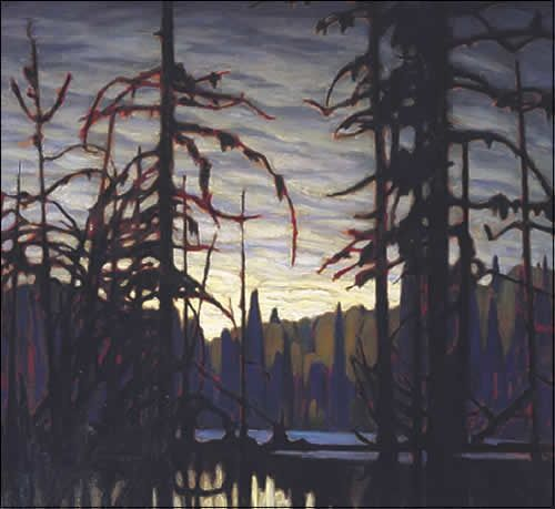 Lawren Harris-Group of Seven- beaver Swamp