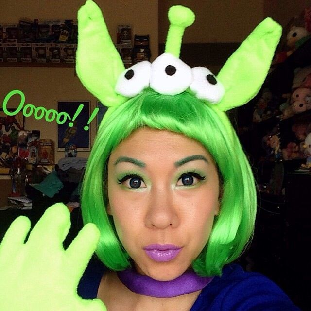 toy story alien costume diy - Google Search