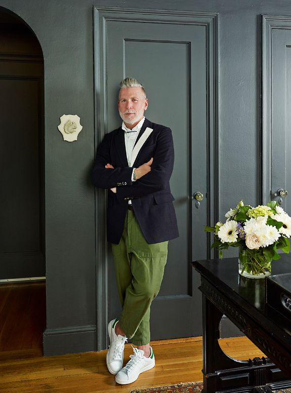 the endlessly stylish Nick Wooster