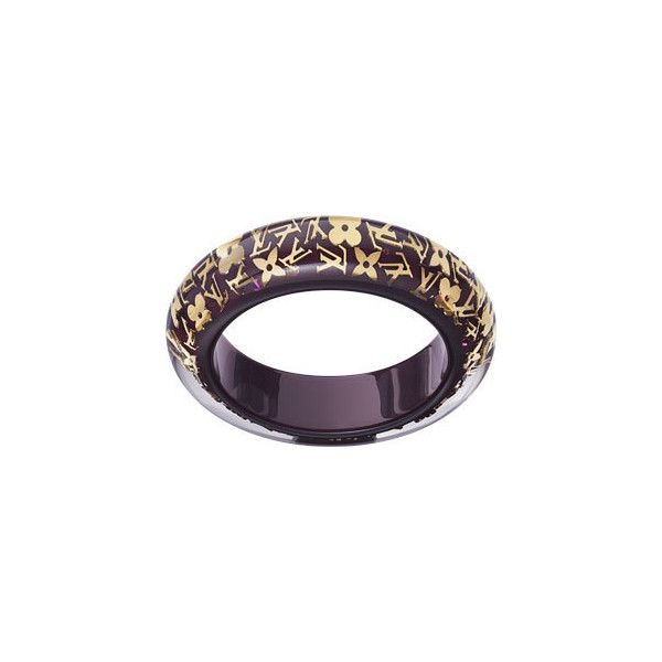 Inclusion Bracelet (Large) (29.710 RUB) ❤ liked on Polyvore featuring jewelry, bracelets, louis vuitton, pulseras, women, monogram jewelry, louis vuitton charms, louis vuitton jewelry, brass jewelry and monogram bangle