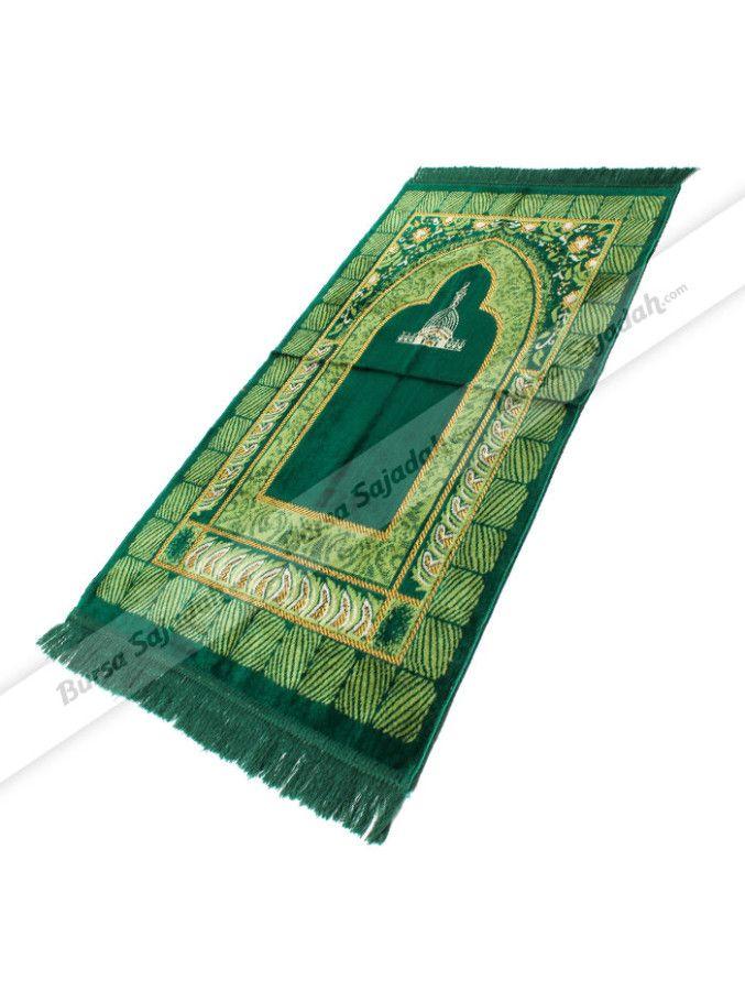 Selain memiliki pilihan warna klasik yang classy, sajadah ekonomis ini juga dibuat dengan motif khas Timur Tengah sehingga membuatnya ideal untuk dijadikan oleh-oleh haji dan umroh. Sajadah berbahan lembut & nyaman ini dibuat dengan ukuran 102 x 52 cm.