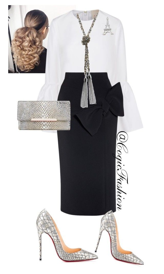 Womens Day!! by cogic-fashion on Polyvore featuring Roksanda, Christian Louboutin and GUESS