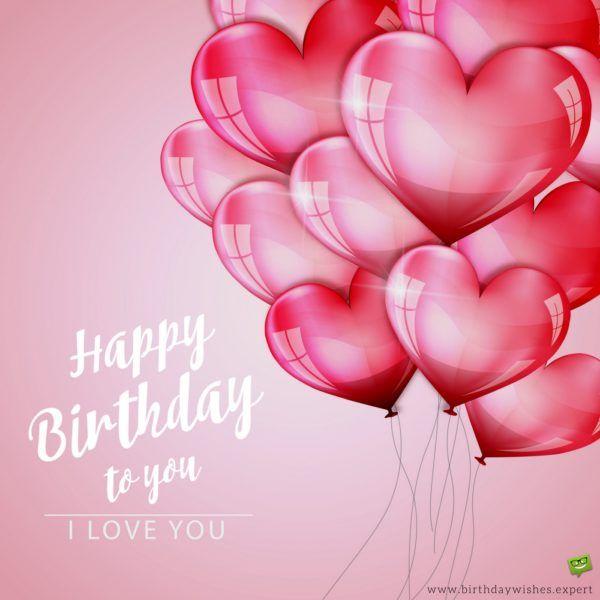 Happy Birthday to you!  I love you.