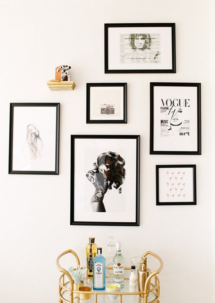 Black And White Gallery Wall 499 best photo wall display ideas images on pinterest | display