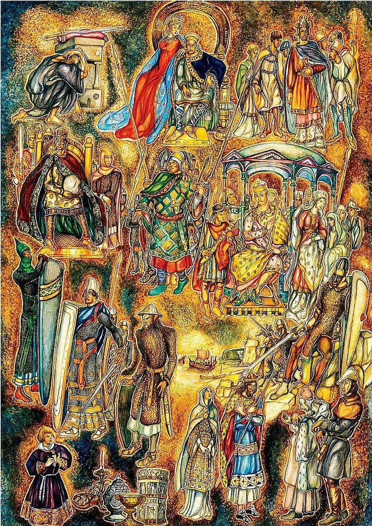 Batthyány Gyula: 1888 - 1959: Byzantium: 87×61 cm: oil on paper: not signed