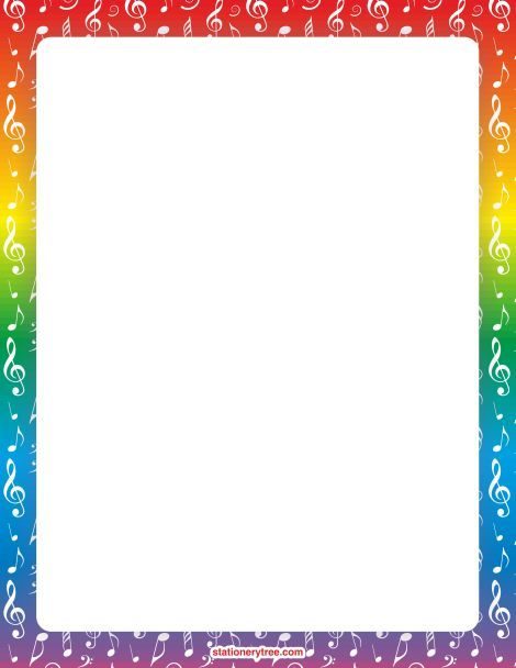 Printable music stationery and writing paper. Free PDF