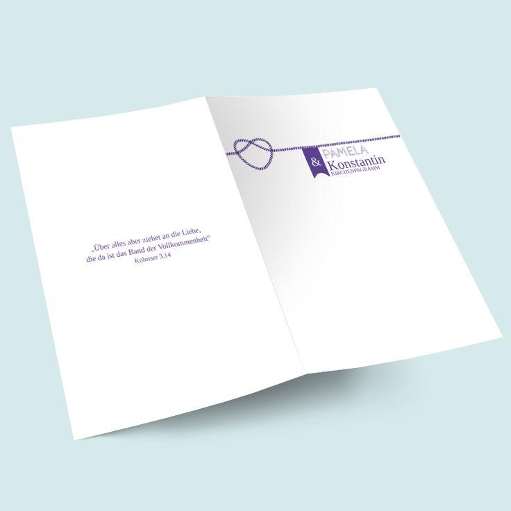 47 besten Kirchenhefte & Programmhefte für Hochzeit online