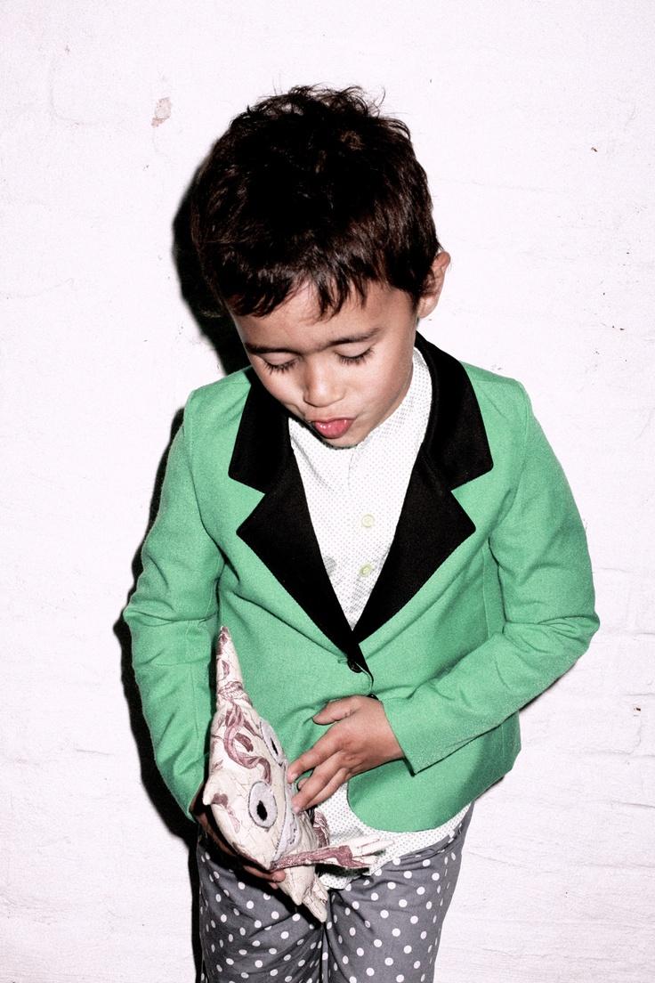 MyDodooDesign, polkadot trouser for boys