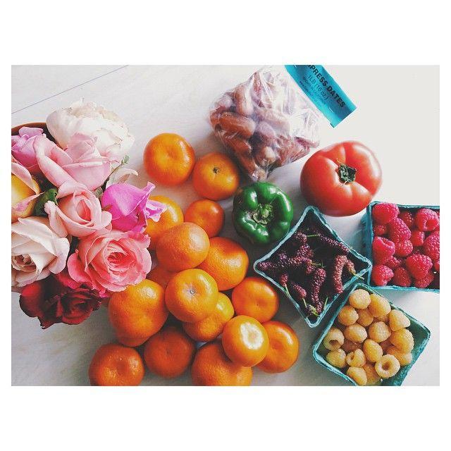 ↞ @amindfullifestyle ↠ Santa Monica farmers market