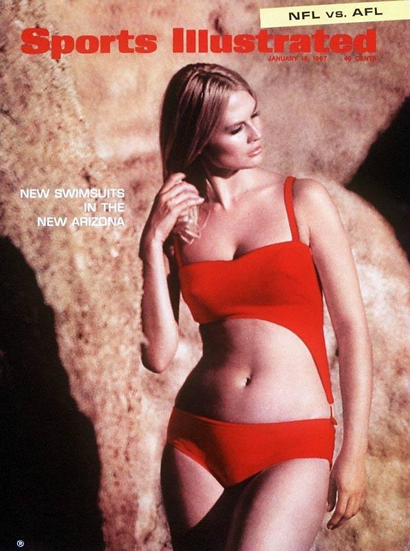1967 red monokini