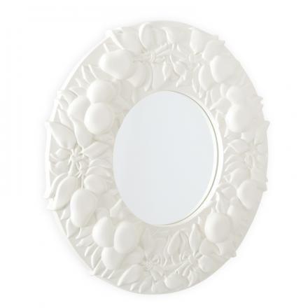 Tikal #mirror designed by Vittorio Locatelli for #Driade  #homedecor #design #white